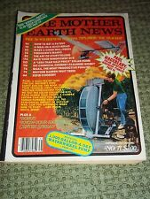 """Vtg. Back Issue """"The Mother Earth News"""" Magazine, No. 71, Sept./Oct. 1981"""