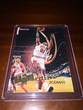 Dennis Rodman Chicago Bulls Basketball Trading Cards