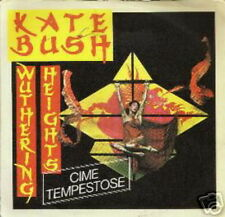 KATE BUSH 45 TOURS ITALIE WUTHERING HEIGHTS