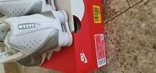Nike Shox R4 Bianche/Argento Nuove n.42,5