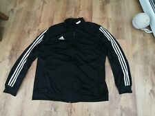 Adidas unworn XXL Polyester Mens Tracksuit Top see pics for measurements silky