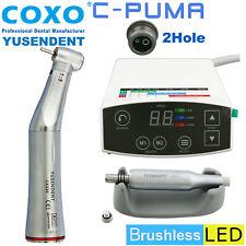 COXO Dental Brushless LED Electric Motor C PUMA 2 Hole 1:5 Fiber Optic Handpiece