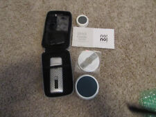 NO NO HAIR REMOVER KIT Pro 3 Silver with Case, Power supply, and Extras