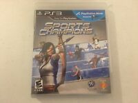 Sports Champions PS3 PlayStation 3 video game tested complete game only