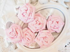 SPECIAL Baby WHIMSY PINK 6 Pk Flowers PAPER 45-50mm Manor House ConB