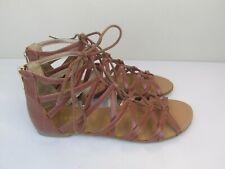 Women's BCBGeneration browm gladiator sandals size 81/2 M