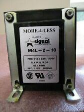 SIGNAL M4L-2-10 TRANSFORMER-1000VA