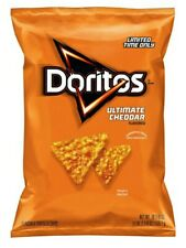 New Doritos Ultimate Cheddar 18.87 oz Bag Limited Time Only