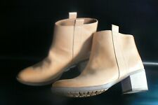 CLARKS MOVIE FIESTA LEATHER ANKLE BOOTS UK Size 6 D - EU 39.5 NEW