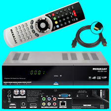 HD TWIN Sat Receiver Megasat 935 + PVR Ready LAN USB Live TV Stream Mediacenter