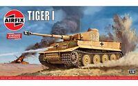 Airfix Vintage Classic Tiger I 1:76 Scale Plastic Model Tank Kit A01308V