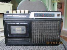 Vintage Condenser Miccrophone Radio Cassette Model Tct-2080,Need New Betl