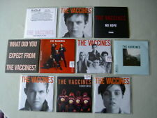 THE VACCINES job lot of 10 promo CDs Come Of Age English Graffiti Wetsuit