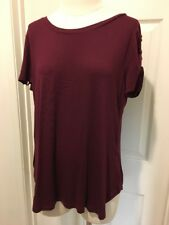 Pink Republic Womens Blouse Size XL Red New With Tags