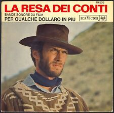 ET POUR QUELQUES DOLLARS DE PLUS BO FILM ENNIO MORRICONE 45T EP BIEM RCA 49.503
