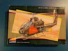 Vintage 1986 Monogram 1:48 Model Kit #5444 ~ Ah-1S Cobra Attack Helicopter nib