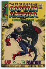 JERRY WEIST ESTATE: TALES OF SUSPENSE #98 (Marvel 1968) FN Iron Man & Cap