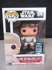 Funko Pop! ~ Luke Skywalker Bespin Encounter ~ Galactic Convention w Protector