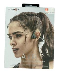 AfterShokz Trekz Air Forest Wireless Bone Conduction Headphones - Green