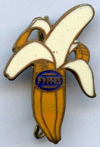 Ventage FYFFES Banana Advertising Enamel Pin Badge RARE !!!
