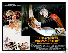 THE FEARLESS VAMPIRE KILLERS LOBBY SCENE CARD # 9 POSTER 1967 JACK MacGOWRAN
