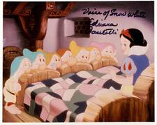 Adriana Caselotti (Snow White) signed authentic 8x10 photo COA