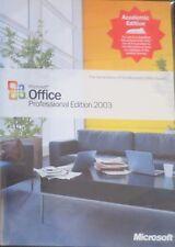 Microsoft Office 2003 Professional Academic Edition