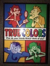 2005 True Colors Board Game Pressman Complete
