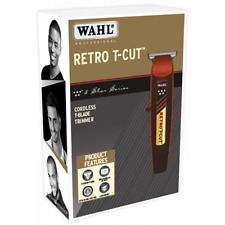 WAHL PROFESSIONAL 5 STAR SERIES RETRO T-CUT CORDLESS RECHARGEABLE TRIMMER #8412