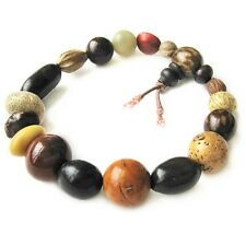 Long Stretchy Tibetan 18 Bodhi Seed Yoga Meditation Mala Prayer Beads Bracelet
