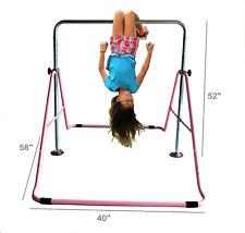 Kids Jungle Gymnastics Adjustable Junior Training Monkey Bar Indoor Child play P