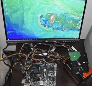 Gigabyte Mainboard , Intel Core i3 7e. Gen. 3,90 GHz CPU, 8GB RAM