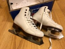 New listing Girls Sz 13 N Ice Skates 30 Riedell Mk Professional Blades Good condition