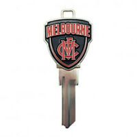 MELBOURNE DEMONS  AFL 3D COLLECTORS House Key Blank - AU SELLER