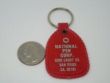 Vintage National Pen Corp. San Diego CA Advertising Keychain