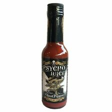 """Psycho Juice"" - Extreme Ghost Pepper"" - ULTRA HOT Chilli Sauce!"