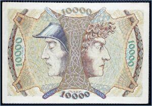 Billet Allemagne Zehntausend (10000) Mark Badische Mannheim 1923 RARE