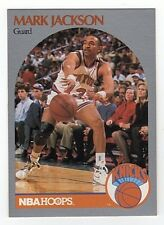 MARK JACKSON 1990-91 NBA Hoops Card #205 RED HOT Instantly Famous Card $$$$$$