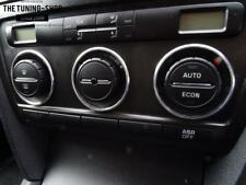 For Skoda Octavia MK2 04-12 Chrome Rings Heater Surrounds For Climate Controls
