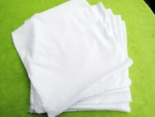 "10 x White Cushion Cover 40cm 16"" Heat Press Transfer,Sublimation Print UK"
