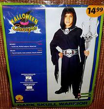 Dark Skull Warrior costume - boys medium (8-10) - Rubie's 881068 - HALLOWEEN NIP