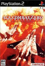 Used PS2 Ace Combat Zero: The Belkan War  SONY PLAYSTATION JAPAN IMPORT