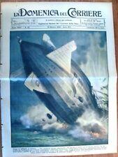 La Domenica del Corriere 19 Ottobre 1930 R. 101 Francia Varese Re Alberto Belgi