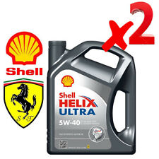 Shell Helix Ultra 5W40 Olio 100% Sintetico motori benzina e diesel, 8 L LITRI