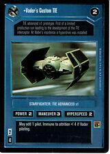 STAR WARS CCG REFLECTIONS SRF CARD VADER'S CUSTOM TIE