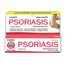 Dr Sheffield's PSORIASIS Moisturizer MEDICATED CREAM 2% Salicylic Acid 28g