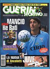 GUERIN SPORTIVO-1999 n.3- MANCINI-ANCELOTTI -CALCIOMONDO
