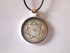 Supernatural Devil's Trap Necklace Demon Protection Symbol Sigil Sam Dean