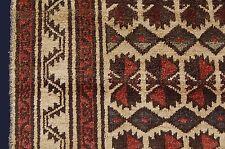 fantastique baloutches nomades Tapis Afghanistan 188x115cm Rareté