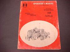 1964 International Harvester Operator's Manual McCormick 468 Cultivator